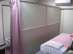 治療室風景